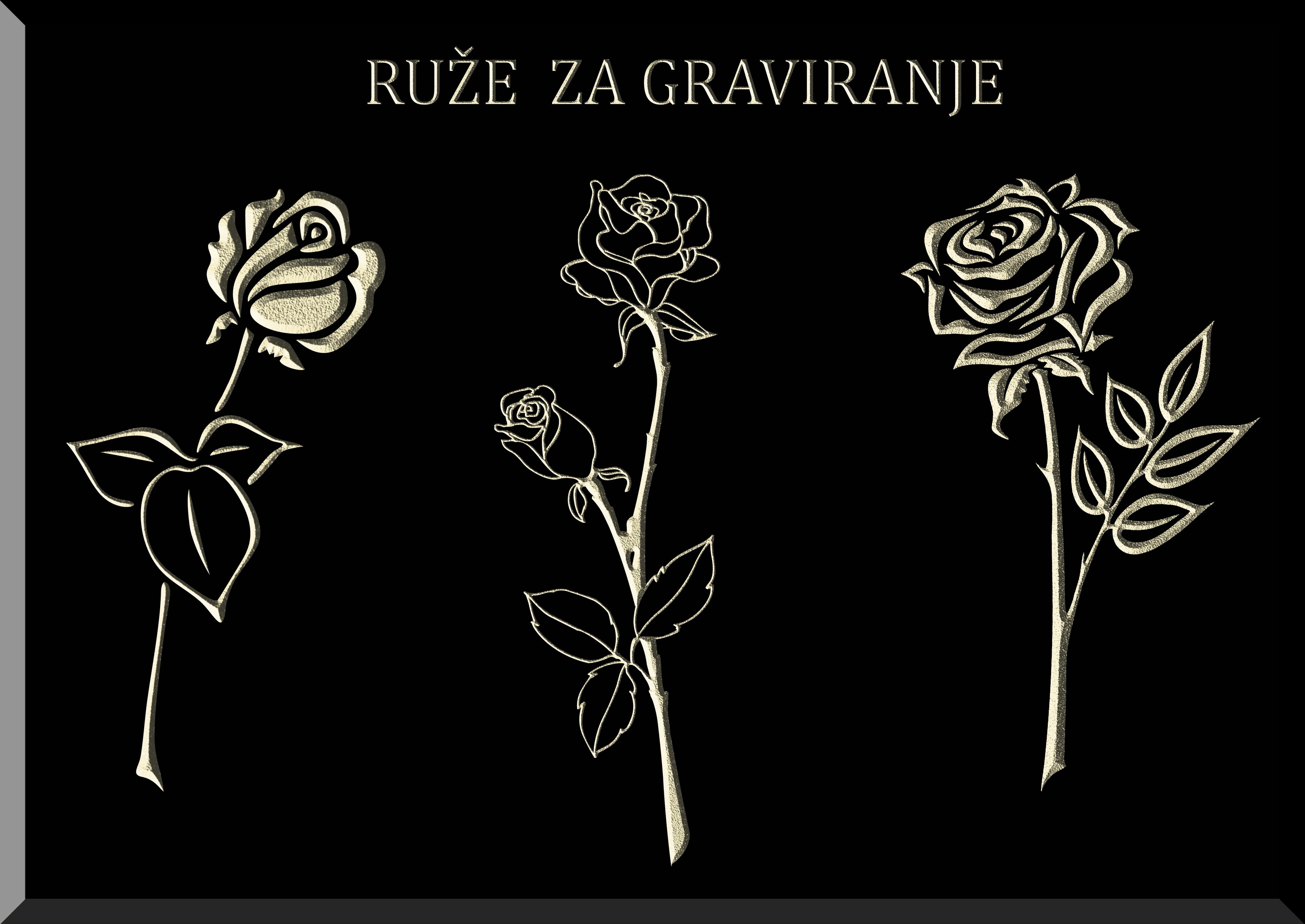 Ruža, Spomenik